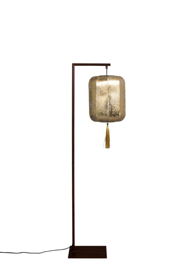 Dutchbone Suoni vloerlamp goud