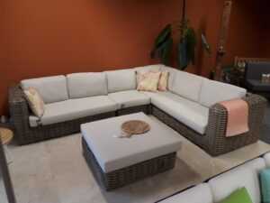 Apple Bee loungeset Elements XL Kubu Showroomset!