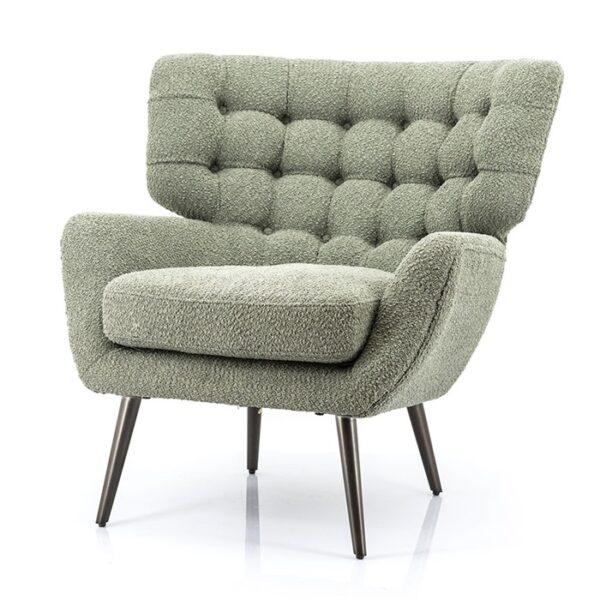 Eleonora Peter fauteuil groen sfinx