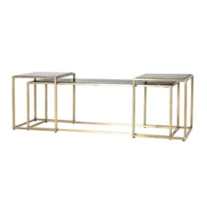 By Boo Caesar salontafel set zwart