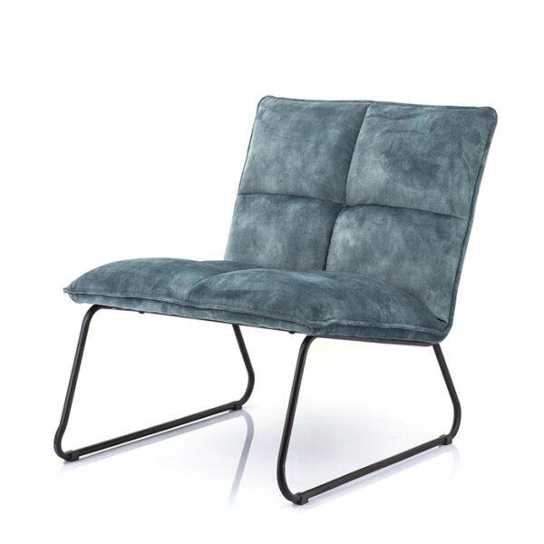 Eleonora Ruby fauteuil adore blauw