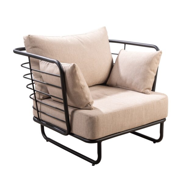 Yoi Loungechair Taiyo Aluminium