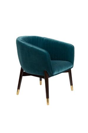 Dutchbone Dolly fauteuil blue