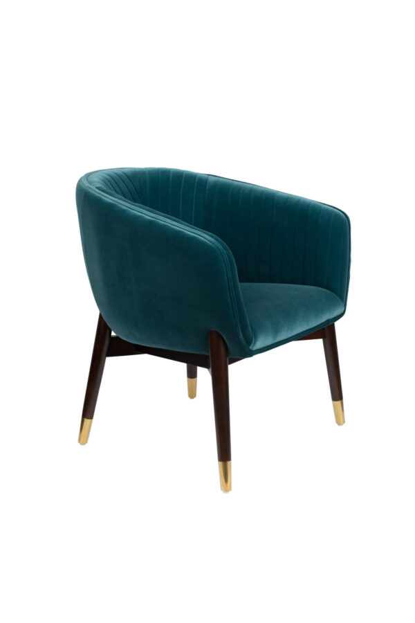 Dutchbone Dolly fauteuil blue