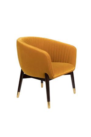 Dutchbone Dolly fauteuil oker
