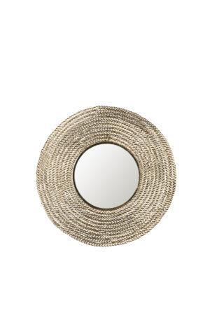 Dutchbone Gauri spiegel 60 cm rond
