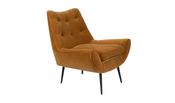 Dutchbone Glodis fauteuil whiskey