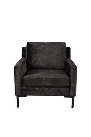 Dutchbone Houda fauteuil antraciet