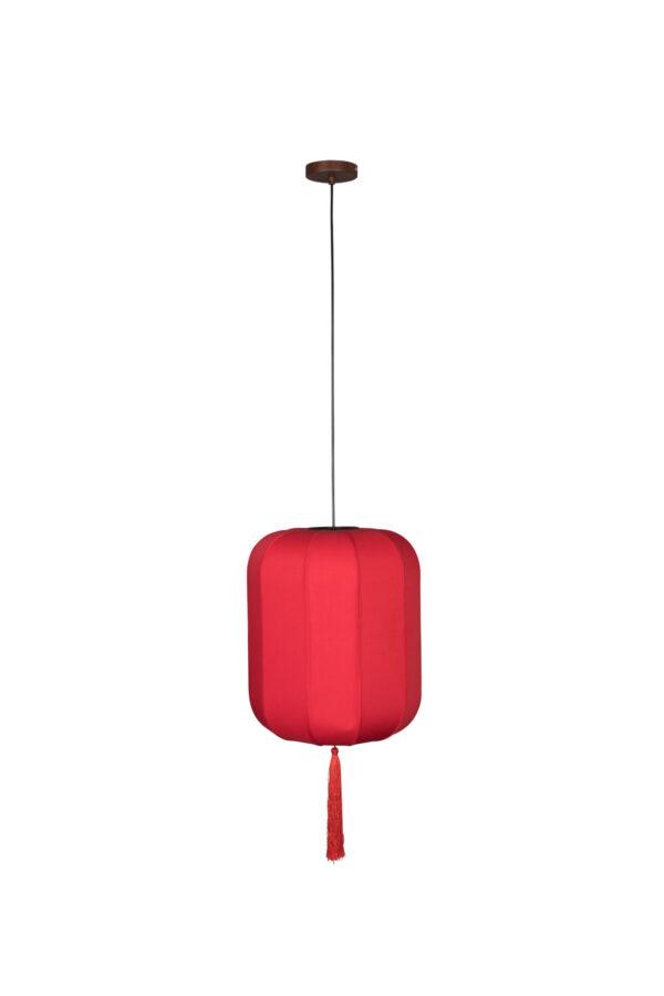 Dutchbone Suoni hanglamp rood