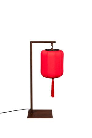 Dutchbone Suoni tafellamp rood