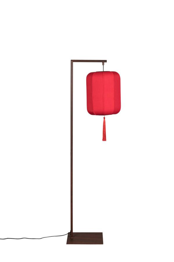 Dutchbone Suoni vloerlamp rood