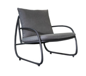 Yoi Loungechair Youkou Flanelle Grey