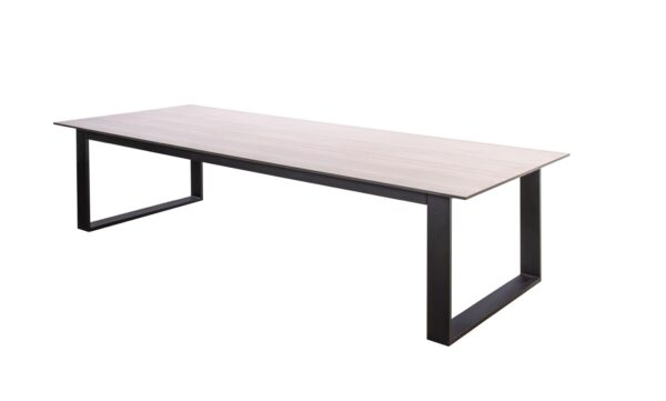 Yoi Low Diningtafel Teeburu 240x100 cm Travertin HPL