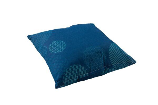 Yoi Sierkussen Circle Blue 50x50 cm
