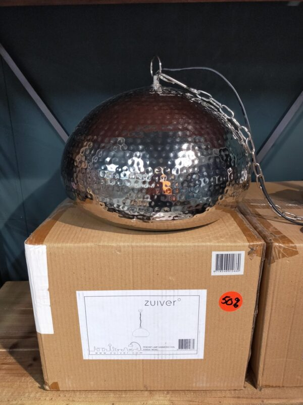 Zuiver hanglamp hammered oval showroommodel