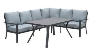 Garden Impressions Lounge Diningset Sergio Mint Rechts
