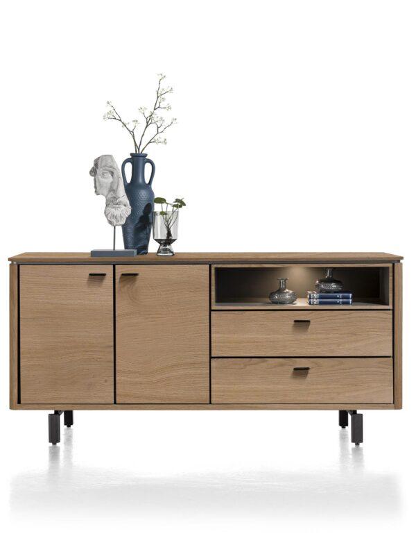 Henders en Hazel Livada dressoir 180 cm Railway brown