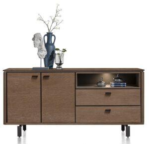 Henders en Hazel Livada dressoir 180 cm choco brown