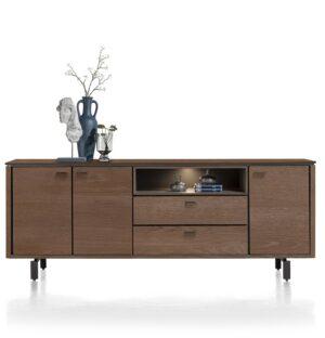 Henders en Hazel Livada dressoir 210 cm choco brown