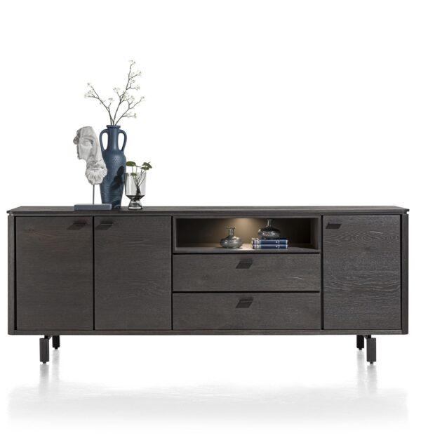 Henders en Hazel Livada dressoir 210 cm onyx
