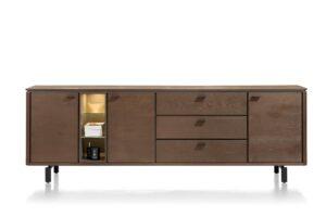 Henders en Hazel Livada dressoir 240 cm choco brown