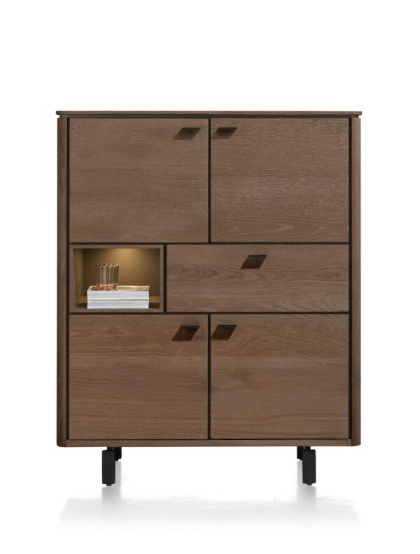 Henders en Hazel Livada highboard choco brown