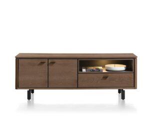 Henders en Hazel Livada lowboard 170 cm choco brown