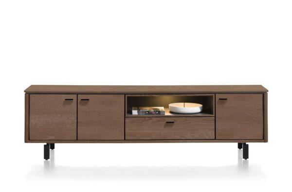 Henders en Hazel Livada lowboard 210 cm choco brown