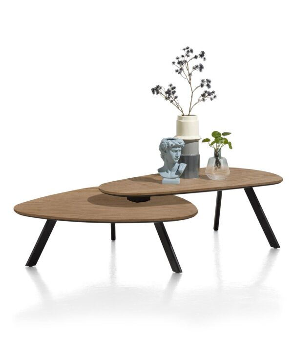Henders en Hazel Livada salontafel set Railway brown