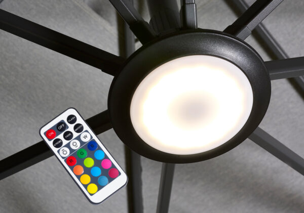 Platinum Parasolverlichting LED Multicolour