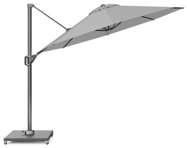 Platinum Zweefparasol Voyager 300 T1 Light Grey