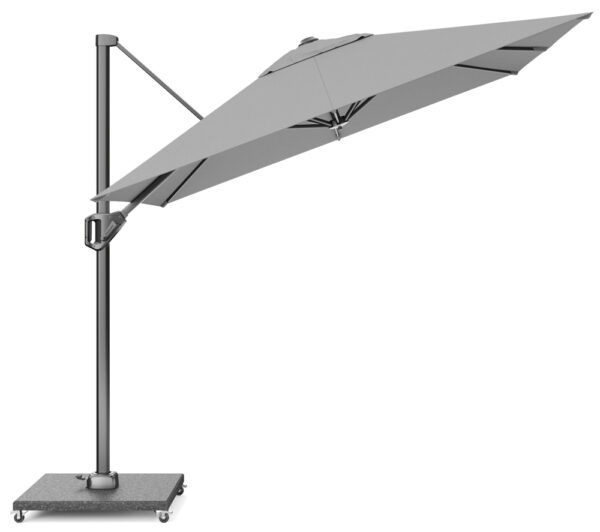 Platinum Zweefparasol Voyager T1 250x250 Light Grey