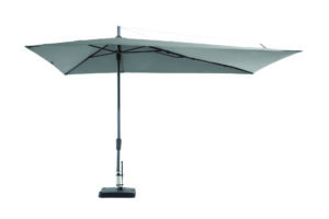 Madison Parasol Asymetric Light Grey