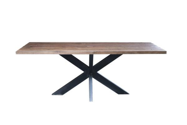 Hudson tafel 240 x 95 cm met spinpoot