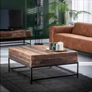 Lodge salontafel 90 x 90 cm