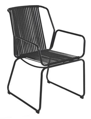 Max & Luuk Ethan Chair Rope Black
