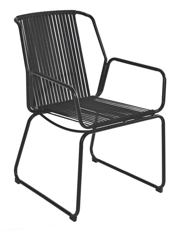 Max & Luuk Ethan Chair Rope Black