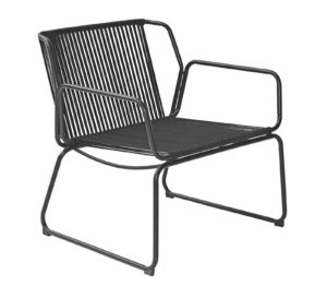 Max & Luuk Ethan Lounge Chair Rope Black