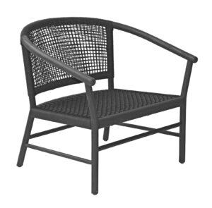 Max & Luuk Kevin Lounge Chair Teak Frame Lava