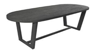 Max & Luuk Lauren Table Teak 270x110 cm Charcoal
