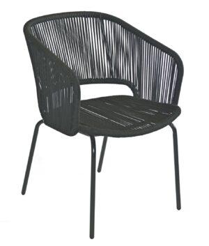 Max & Luuk Lenn Chair Rope Black