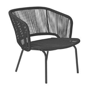 Max & Luuk Lenn Lounge Chair Rope Black