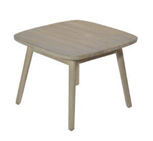 Max & Luuk Lennon Side Table Teak 60x60 cm Aged