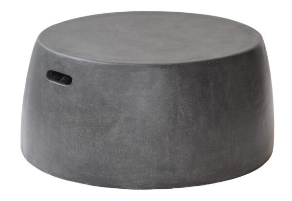 Max & Luuk Nick Coffee Table, Stool XL fiberglass Lava