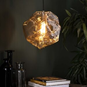 Rock hanglamp chromed