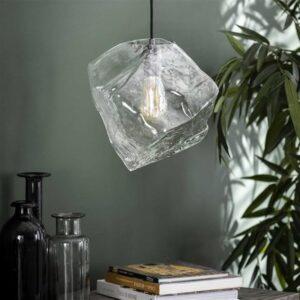 Rock hanglamp clear