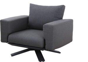 Suns Loungechair Stockholm Grijs Premium