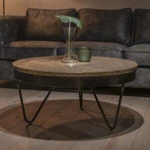 UrbanSofa Andalusie gold salontafel 90 cm
