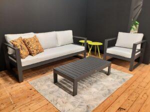 Scaloppino loungecombinatie aluminium