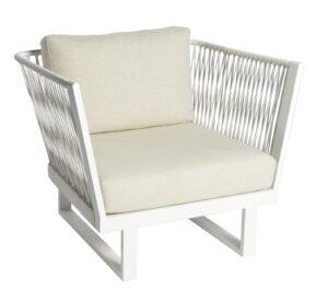 Borek Altea Loungechair off-white